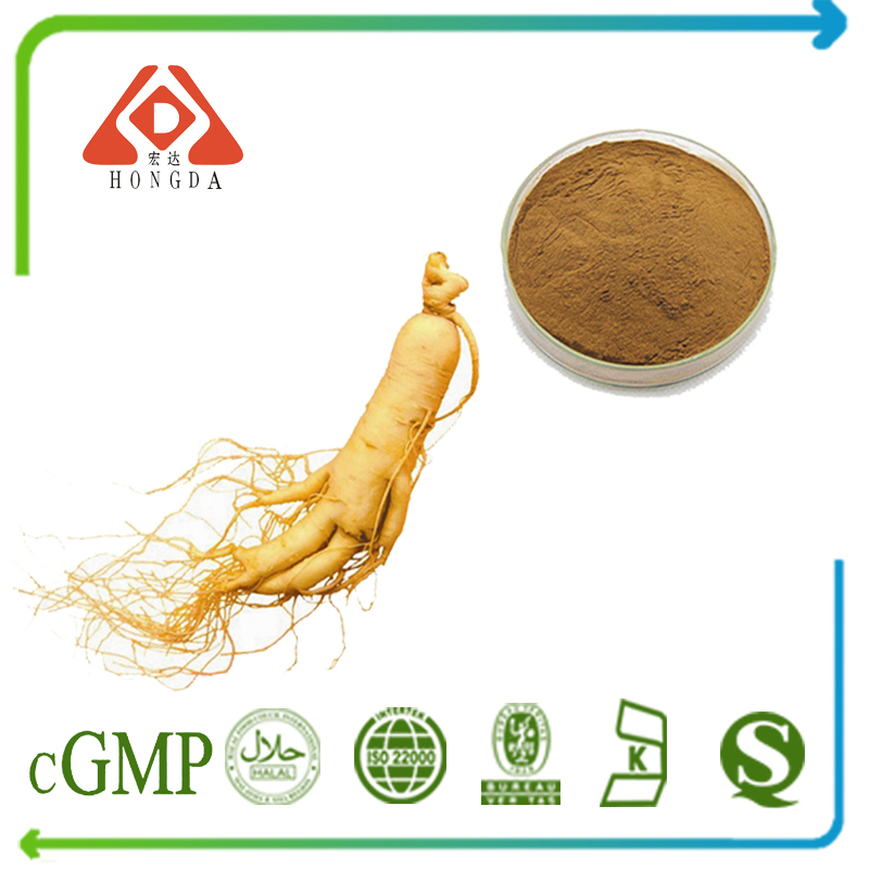 Panax Ginseng Extract Ginsenosides 10% UV (Stems & Leaves)