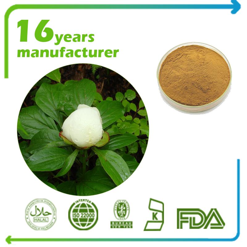 White Peony Root Extract Peony Glycosides 8% HPLC