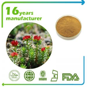 Rhodiola Rosea Extract Rosavins 3% and Salidroside 1% HPLC