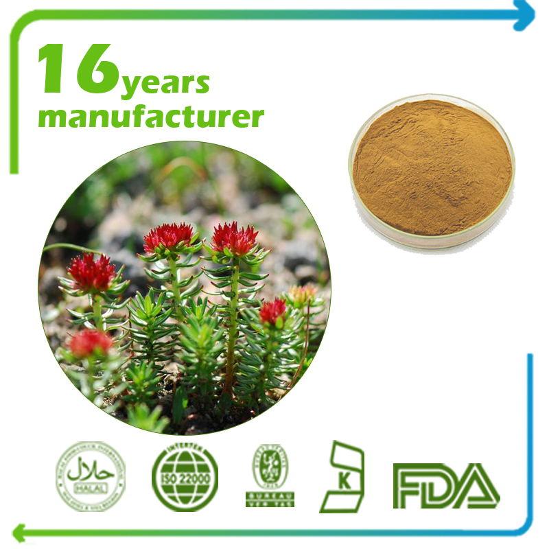 Rhodiola Rosea Extract Rosavins 5% and Salidroside 2% HPLC