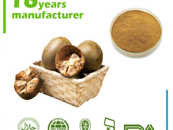 Luo Han Guo Extract Mogroside V 20% HPLC, Mogrosides 80% UV (Monk Fruit Extract)