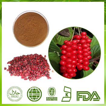 Schisandra Fruit Extract Schisandrins 2% UV
