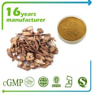 Salvia Miltiorrhiza Extract 7% Salvianolic Acid HPLC (Red Sage Root Extract)
