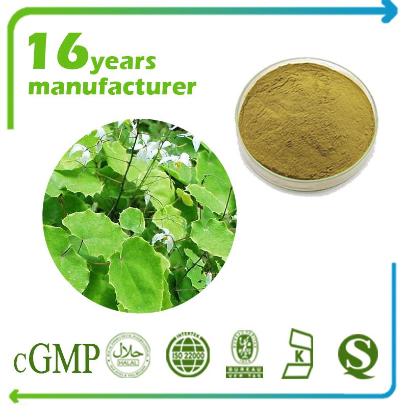 Epimedium Extract Polysaccharide 50% UV (Horny Goat Weed Polysaccharide 50% UV)