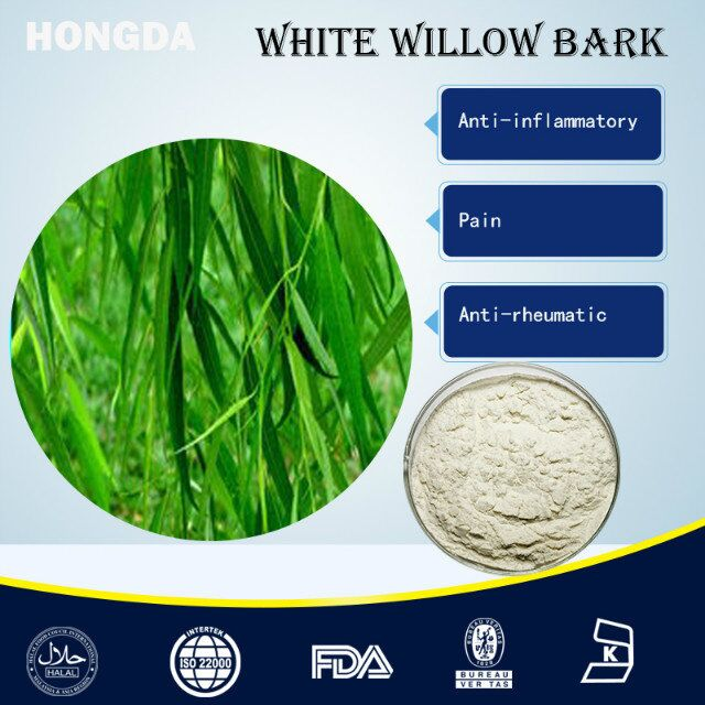 White Willow Bark Extract Salicin 98% HPLC