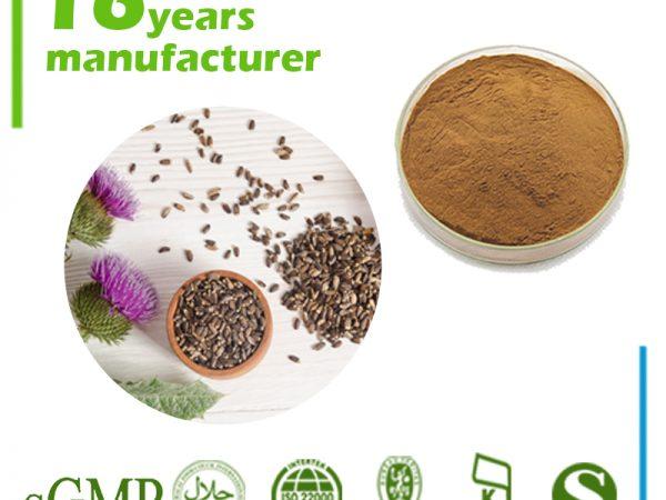 Milk Thistle Extract Silymarin 80% UV (40% HPLC)