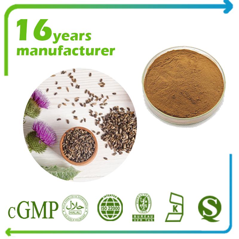 Milk Thistle Extract Silymarin 80% UV (30% HPLC) (Canada)