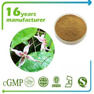 Epimedium Extract Icariin 10% HPLC (Horny Goat Weed Icariin 10% HPLC)