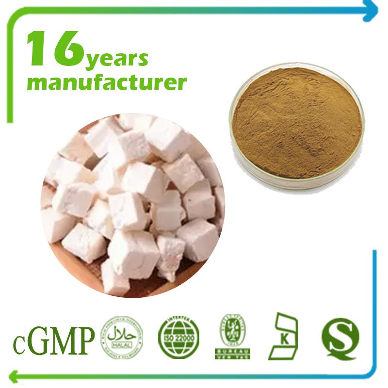 Poria Cocos Extract Polysaccharides 20% UV (Poria Mushroom Extract)